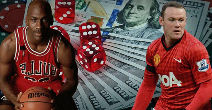 atletas e esportistas famosos e jogos de azar