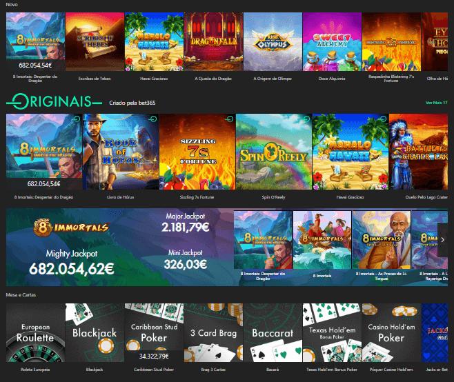 bet365 caca niqueis e jogos de casino online