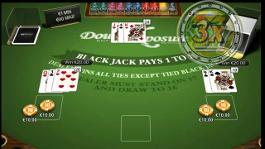 jogo blackjack double exposure