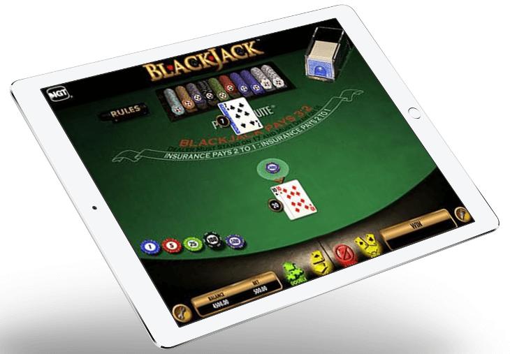blackjack online moderno