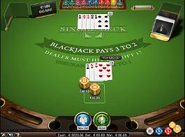 jogo blackjack single deck