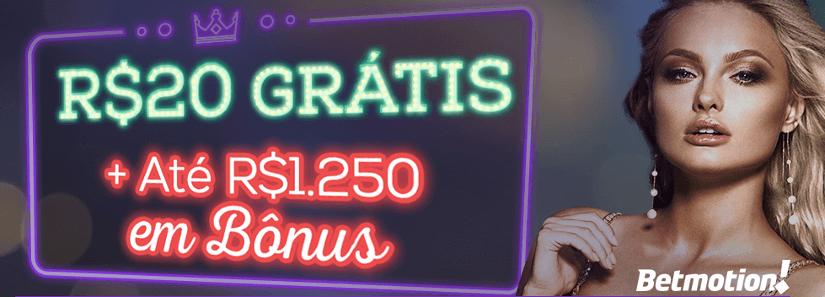 bonus betmotion casino e bingo gratis sem deposito
