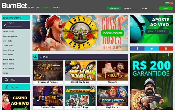bumbet jogos de casino online