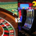 caça niquel e roleta de casino