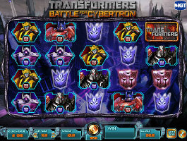 caça niquel transformers