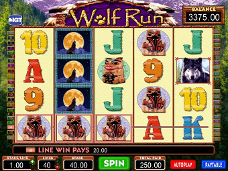 jogo de casino Wolf Run
