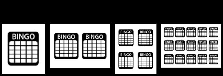 cartelas de bingo para imprimir