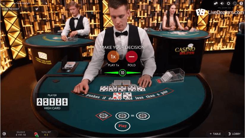 cassino ao vivo com holdem poker e jogos de poker live