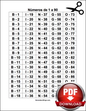 numeros de jogo de bingo de 90 para imprimir por sorteio