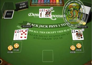 blackjack online gratis double exposure