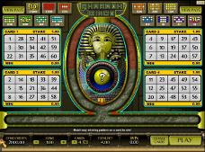 o jogo de bingo gratis pharaoh bingo