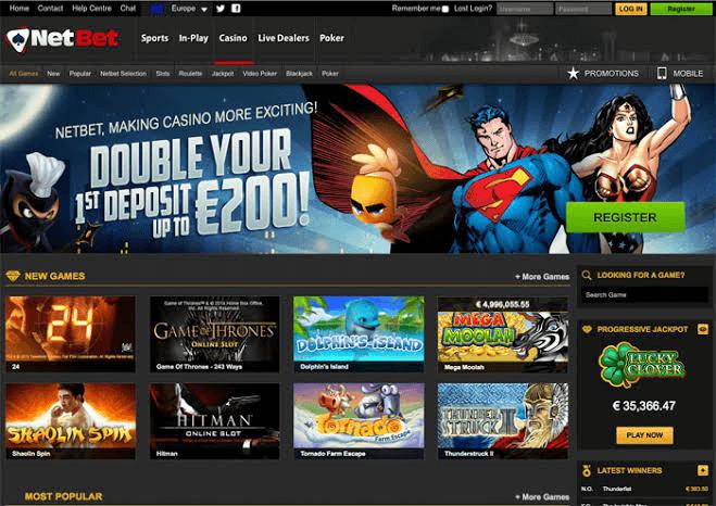 netbet jogos de casino online