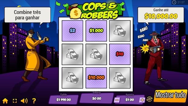 raspadinhas online cops and robbers