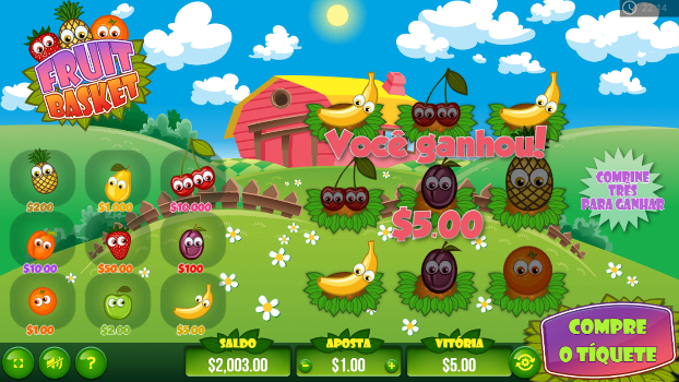 raspadinhas online fruit basket