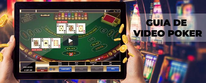regras do video poker
