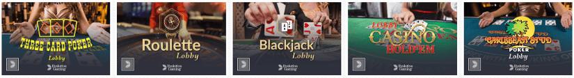 rivalo casino jogos online e jogos de mesa