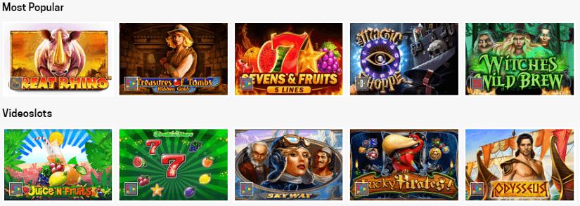 jogos de cassino e caça niqueis no rivalo casino
