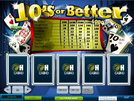 video poker tens or better